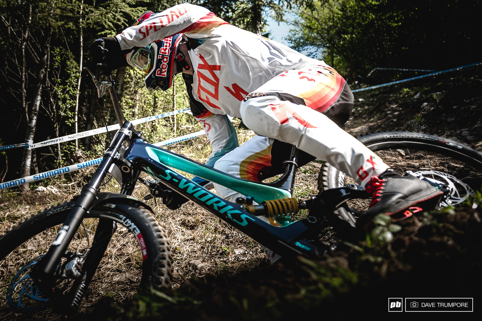 Loic Bruni was looking fast and comfortable all day.