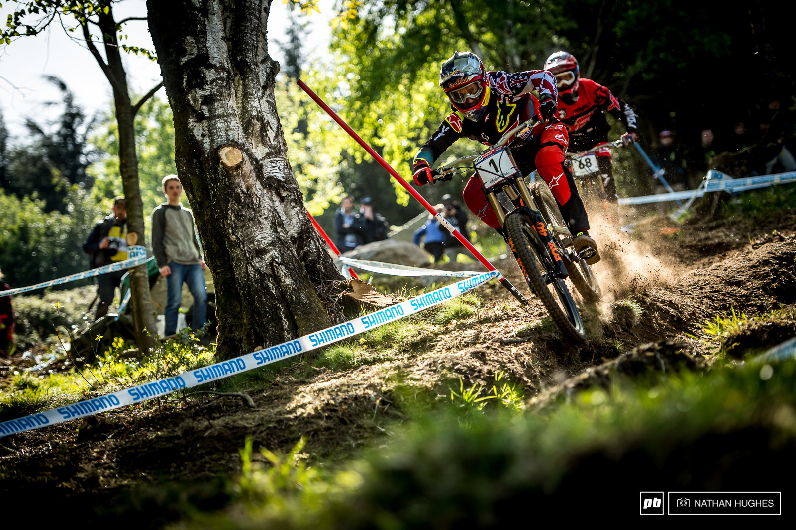 The only other rider in recent memory who seems to like to ride so little and still pull out the top results is Sam Hill. Gwin rode just 3 laps yesterday and only one disjointed run with Mullaly this morning before arriving in 5th place for qualies. How does he do it