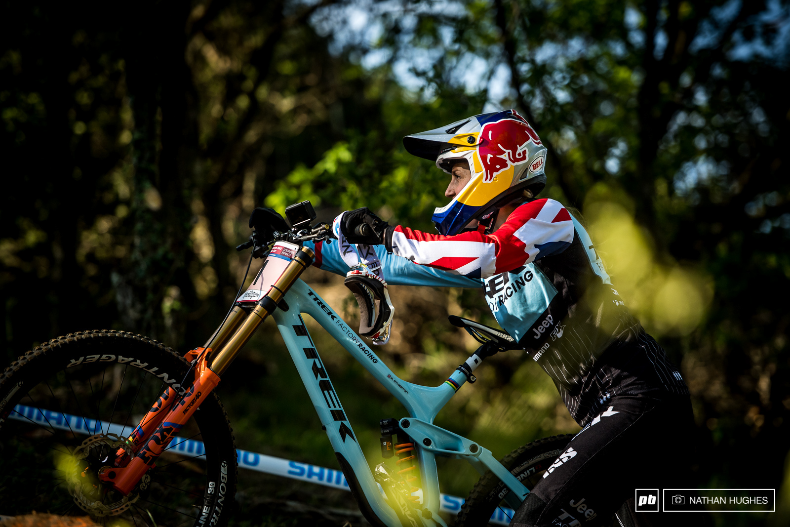 Rachel Atherton will ride only second last down the hill for the first time since Tahnee last caught her out for qualifying back in Lenzerheide last season.