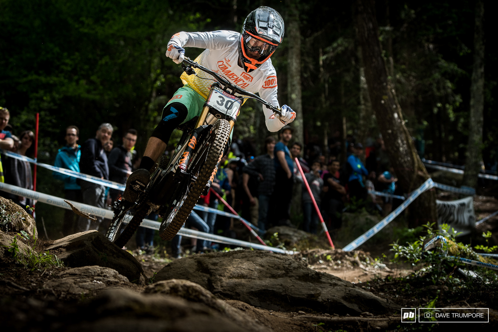 Thomas Estaque is one of the many young French riders who are knocking on the door of the top 10 right now.