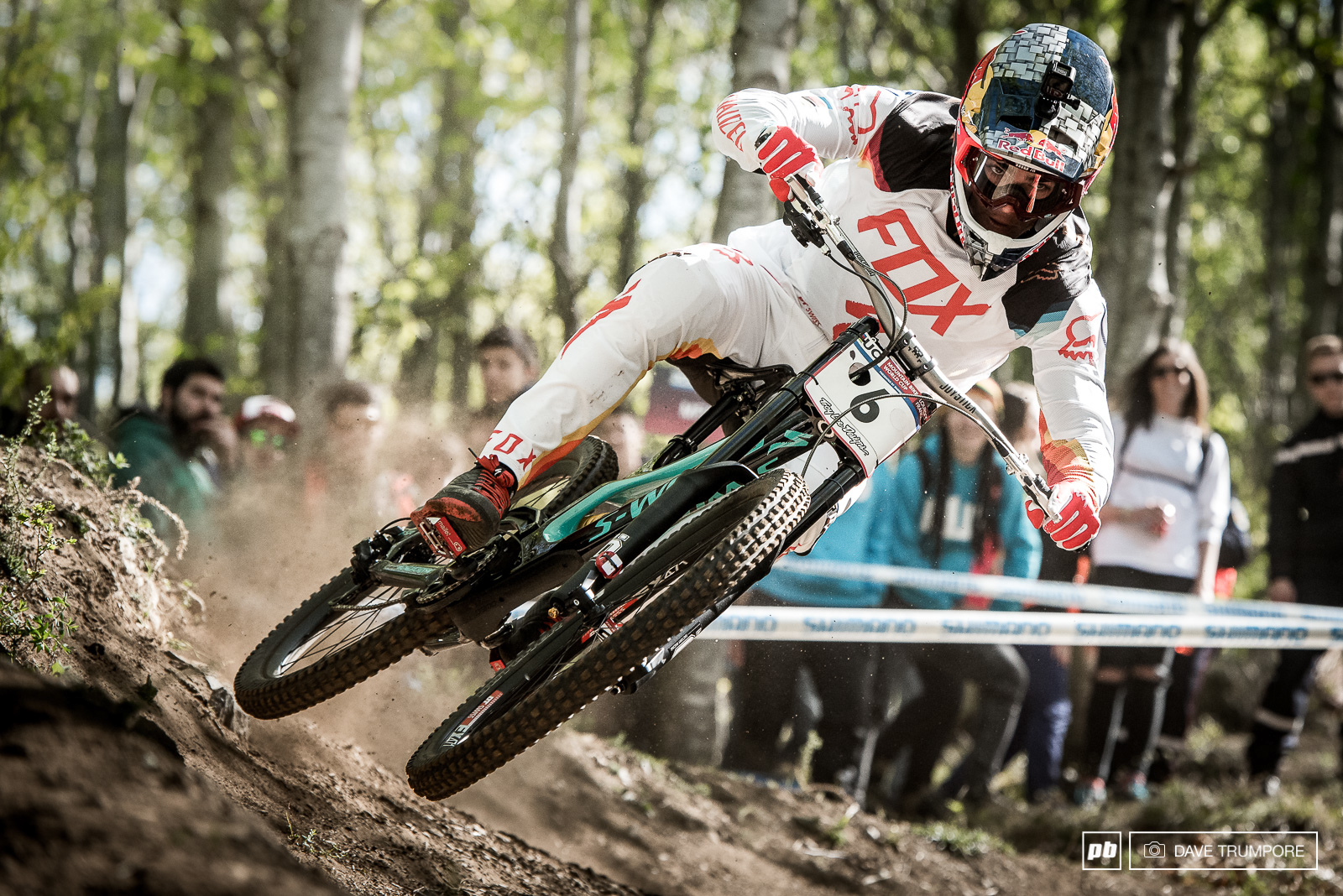 Loic Bruni has always been fast here and today he came 2nd just behind Loris Vergier.