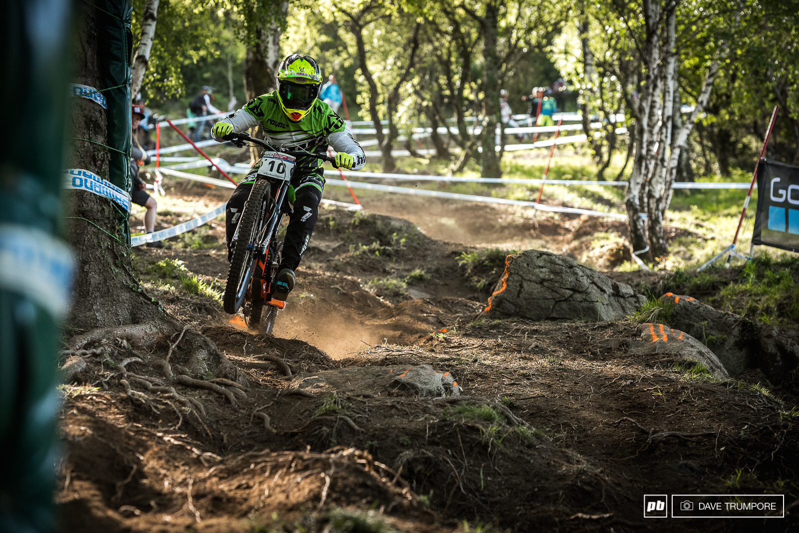Another of last years standout riders Adam Brayton had a rough day to finish just inside the top 30.