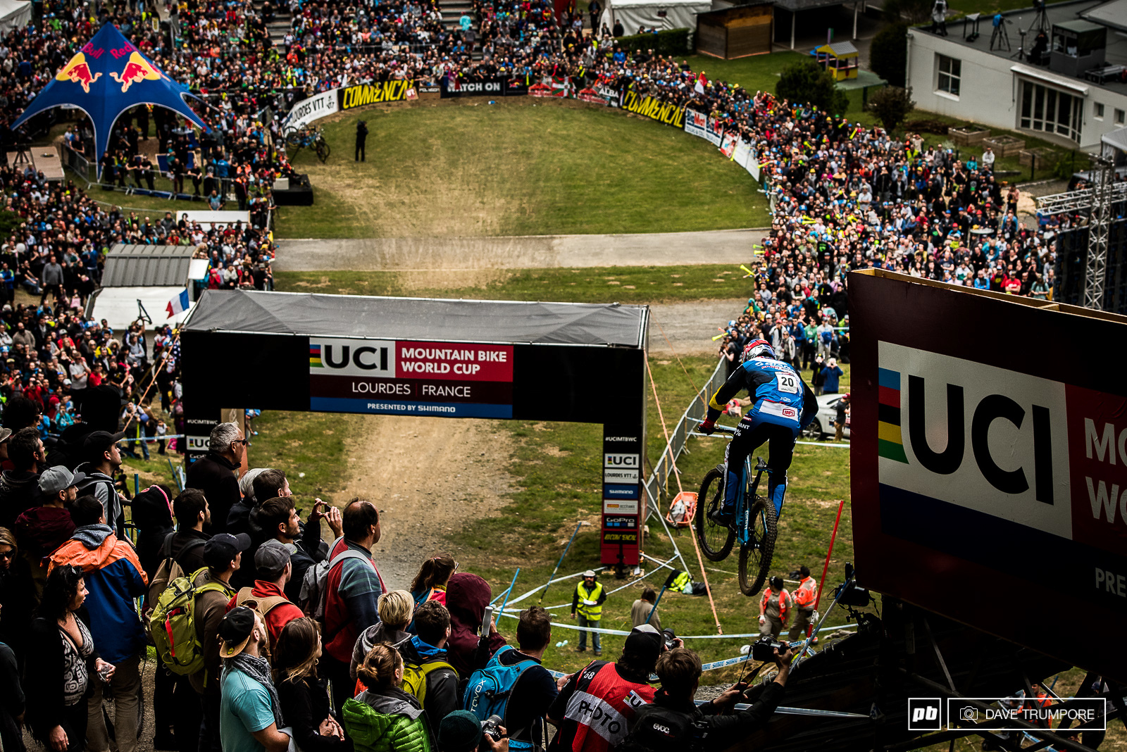3rd place for Marcello after a lot of hard work and a little bit of luck here in Lourdes.