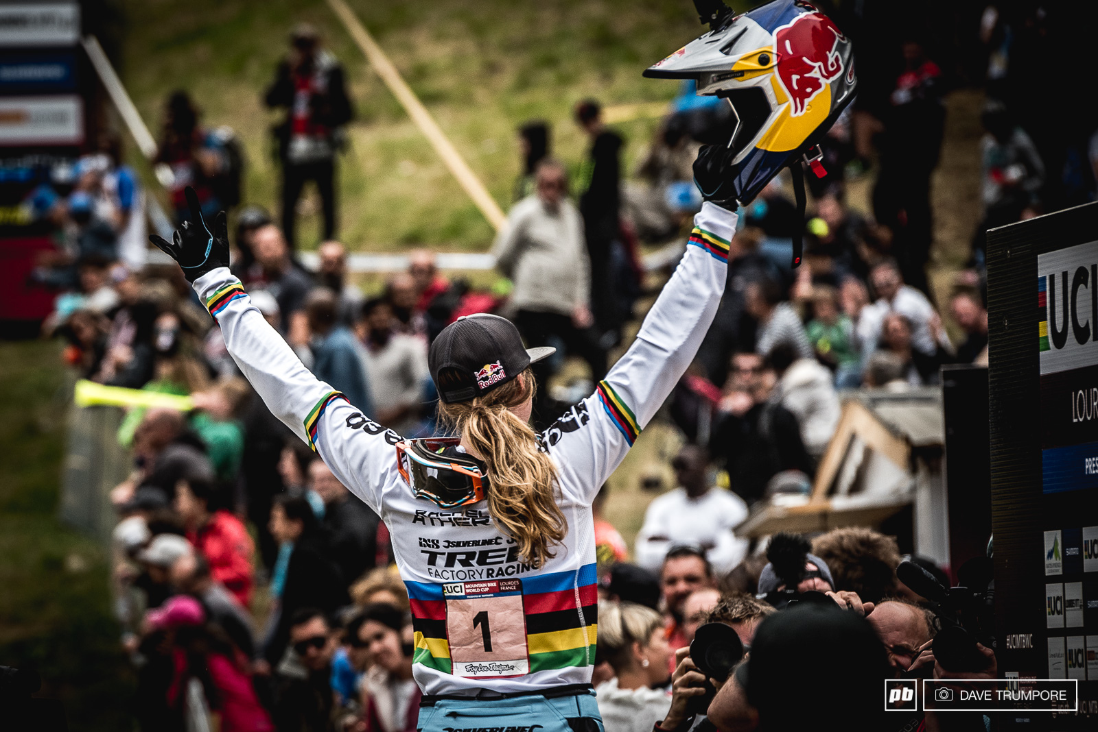 Another World Cup and another win for Rachel Atherton. But this one was not easy and the other women are hot on her heals right now.