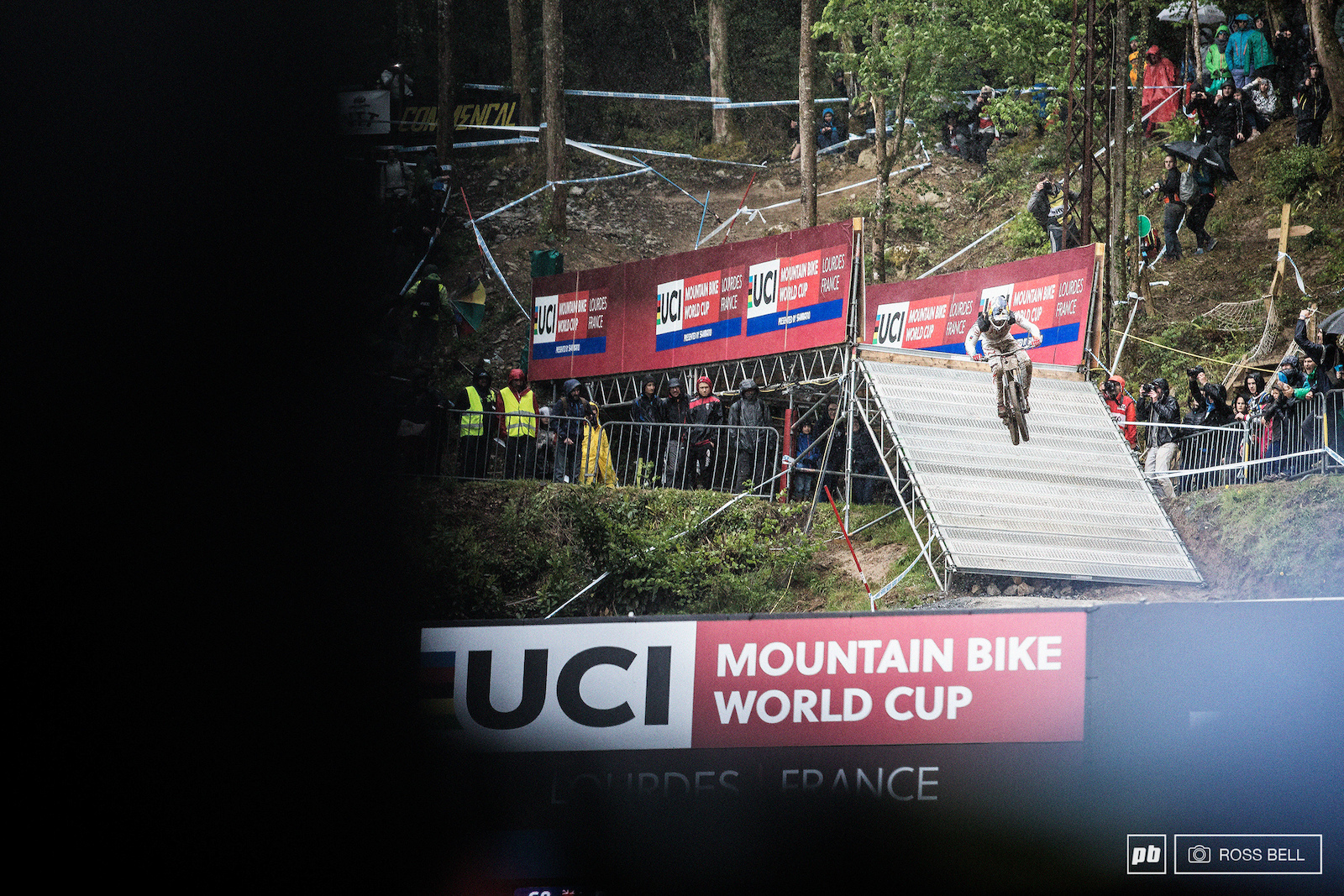 Two years on the trot misfortune has kept Loic off the podium in Lourdes.