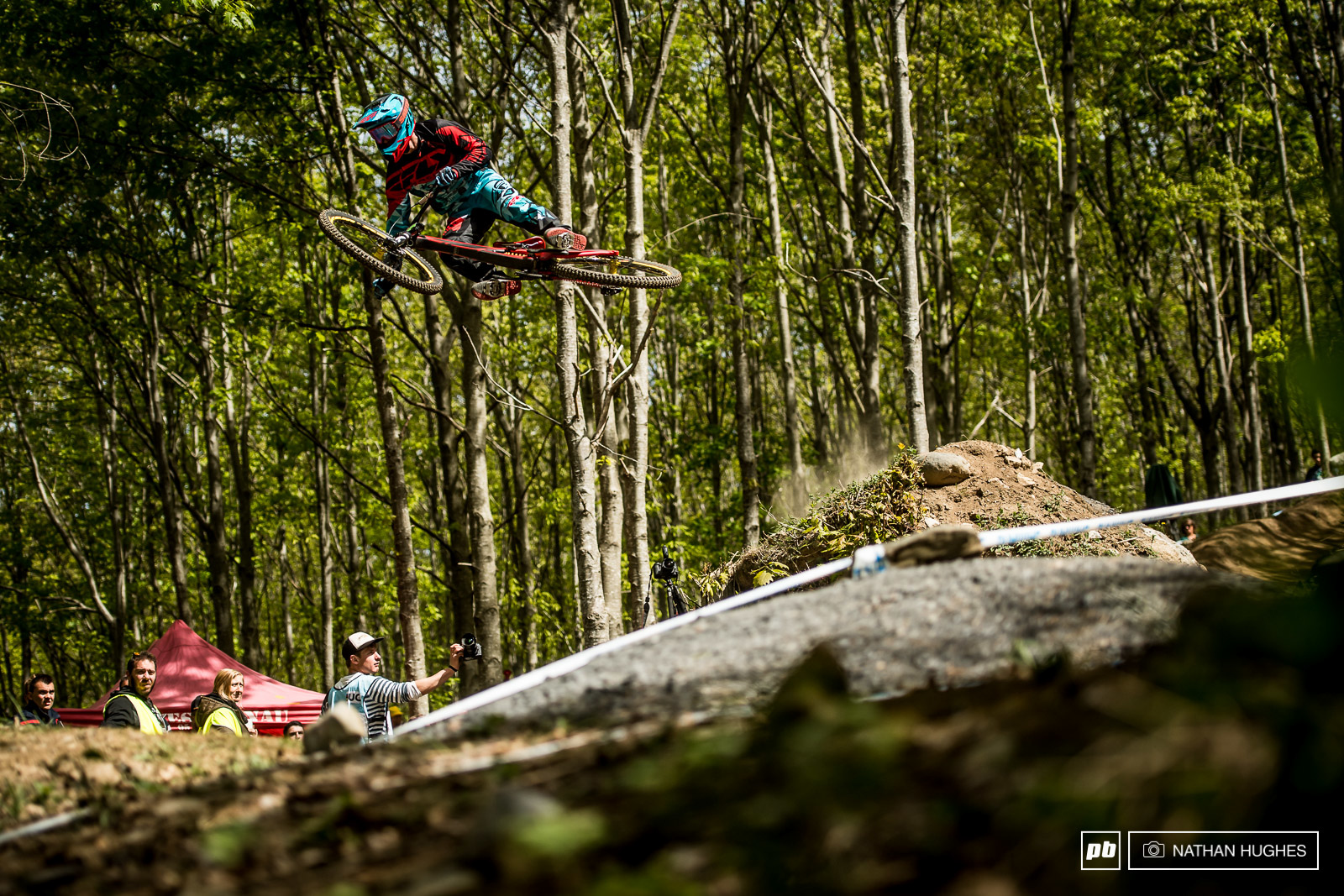 Holy Water - Finals Photo Epic - Lourdes DH World Cup 2017