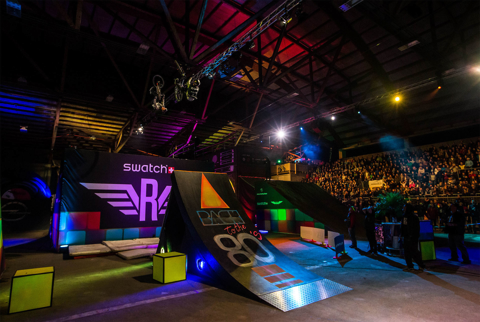 Team Battle and Finals at Swatch Rocket Air