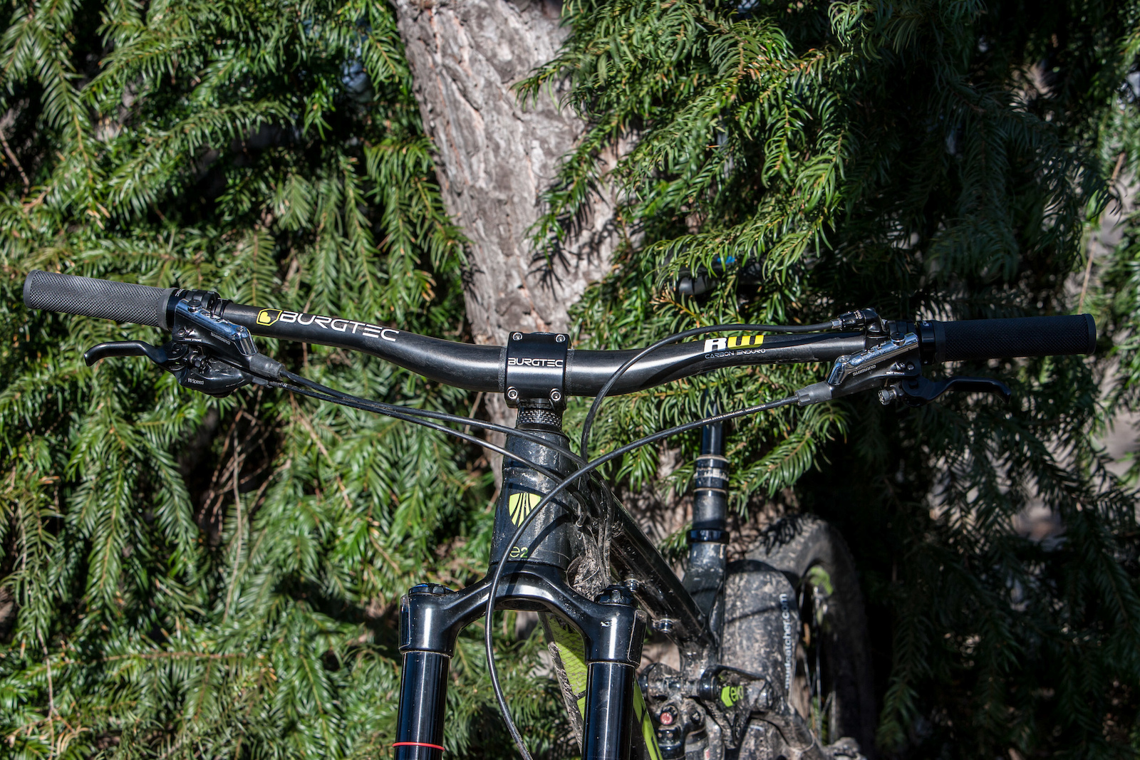 Burgtec Ride Wide Carbon Enduro Bar