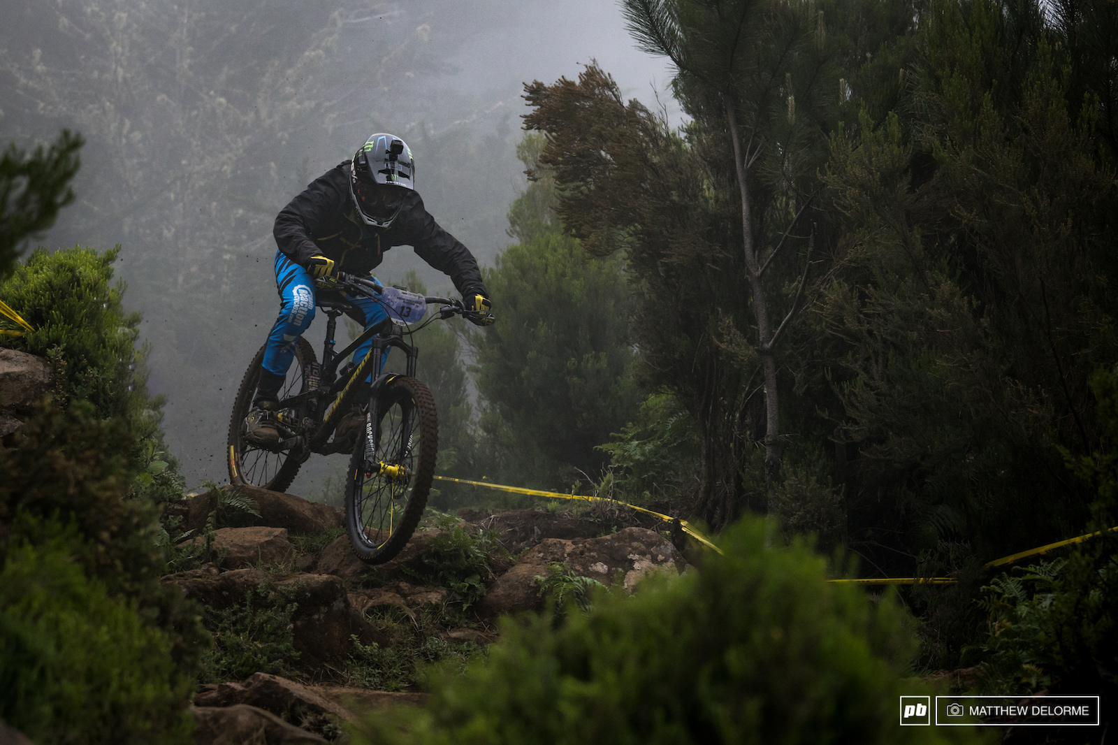 Sam Hill was hoping for a bit more aggressive riding after day one. Hopefully day two gave him want he wanted.