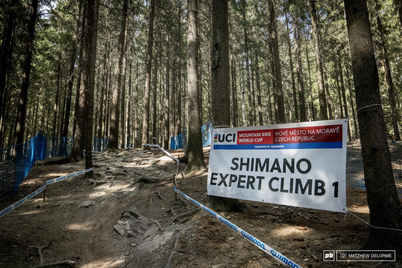 Shimano Expert Climb 1. Punchy and rocky.