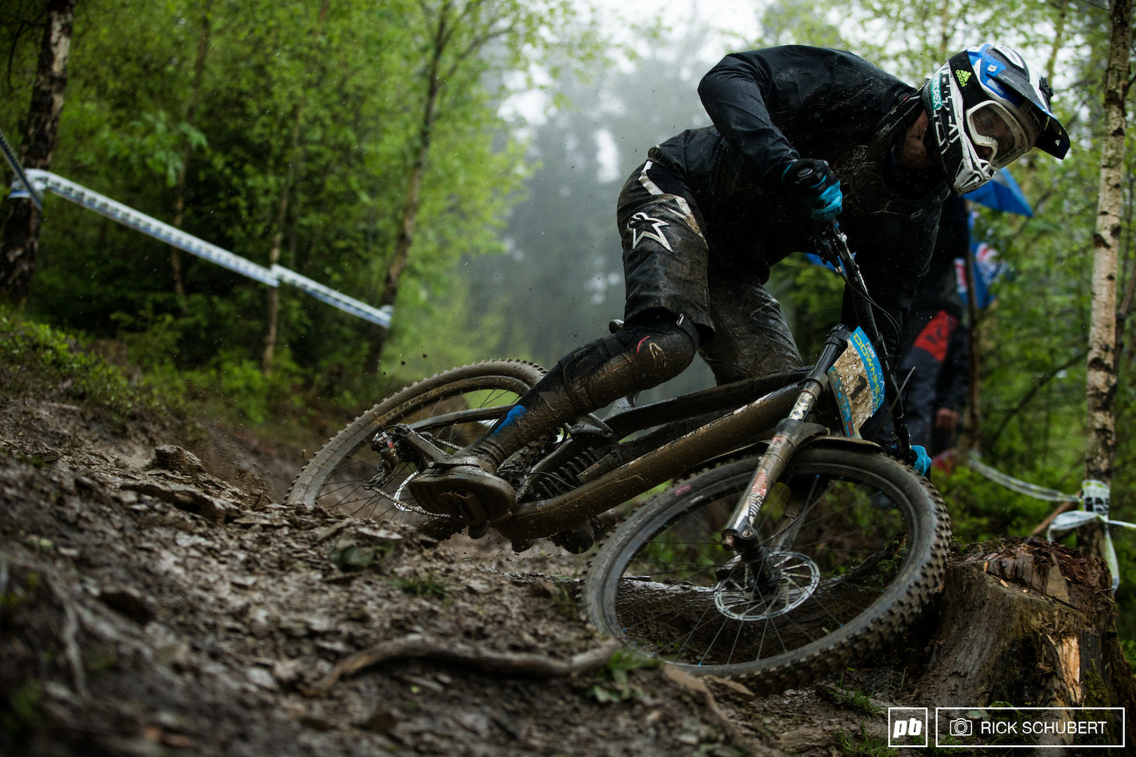 Eyes on the prize. Jure Zabjek leads the overall in the elite men and is hunting his first european title