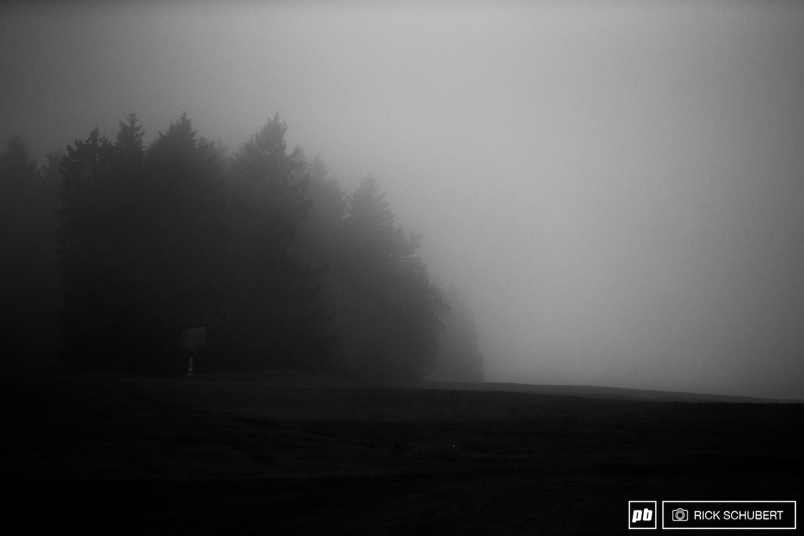 Thick fog and plenty of rain hindered the first training here in Willingen