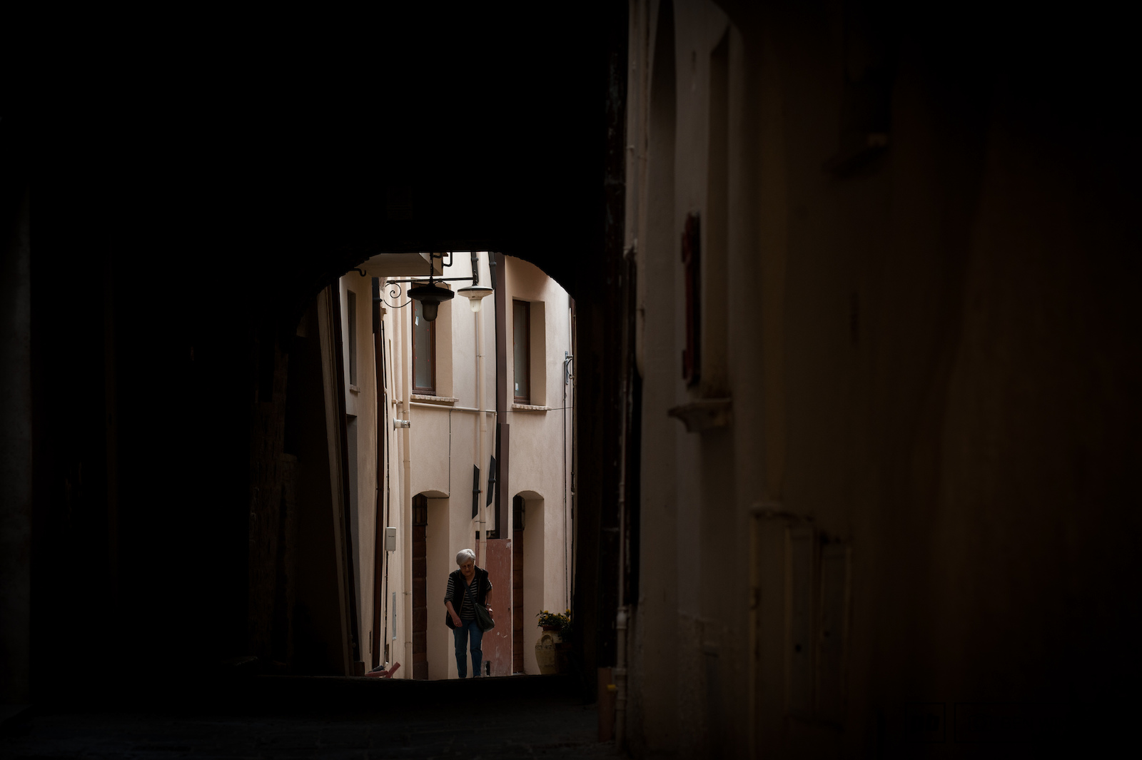 A typical ancient Italian town has maze like narrow streets either a shortcut or a pathway somewhere new.