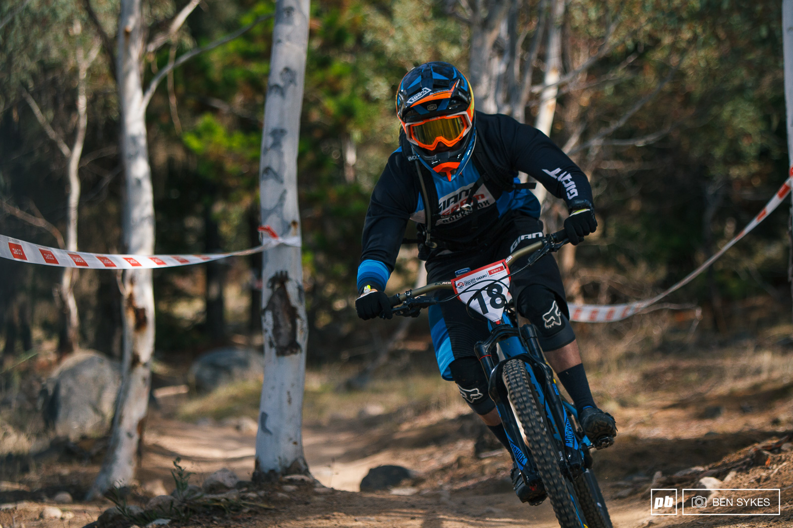 It was good to see Tim Eaton out having success on a trail bike.
