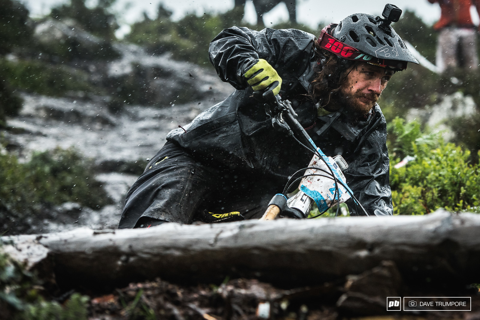 It wouldn t be an EWS round without a day in the rain.