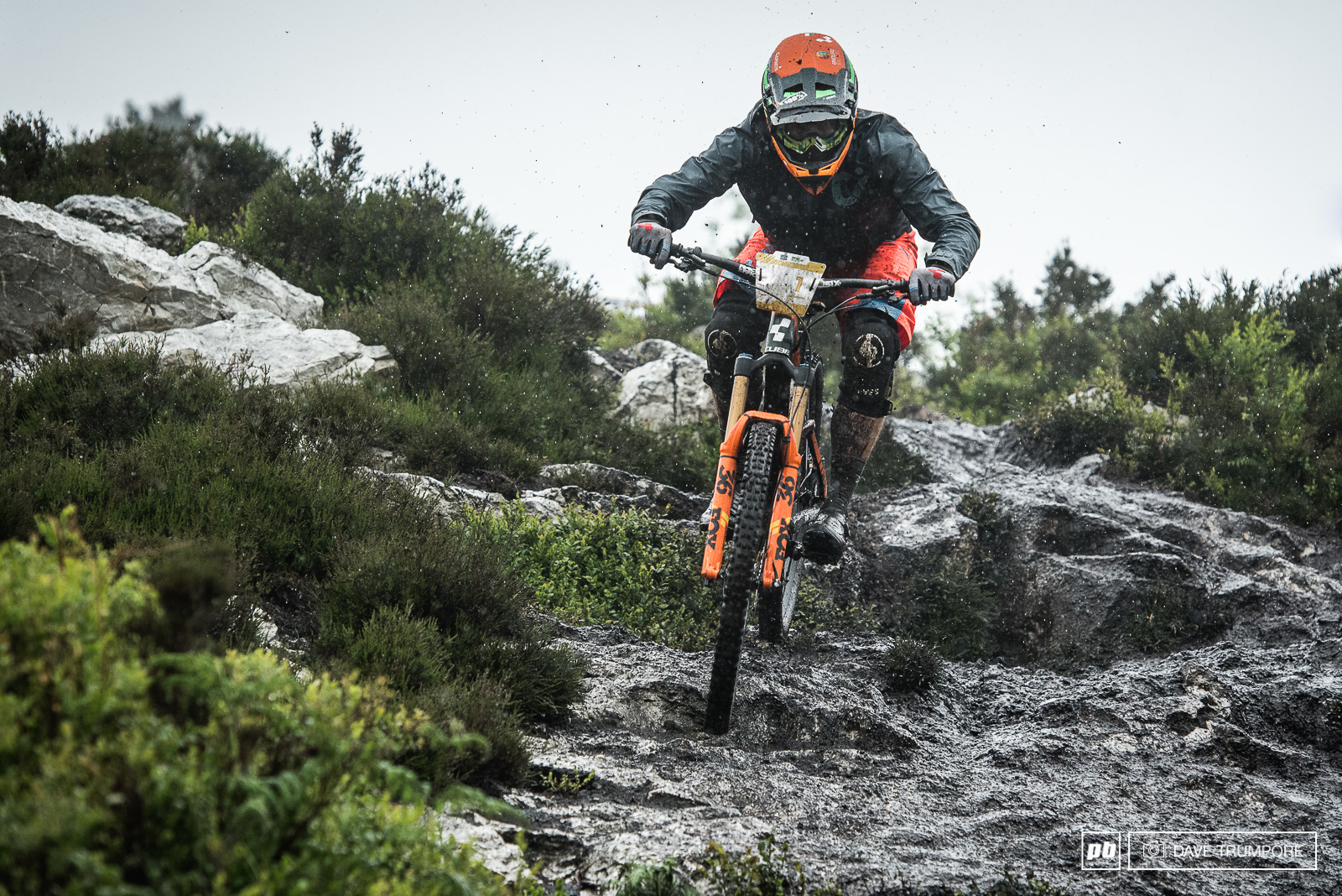 How do you break in a new custom painted bike if you are Greg Callaghan. Like a true Irishman you take it for a thrashing in the mud and rain.