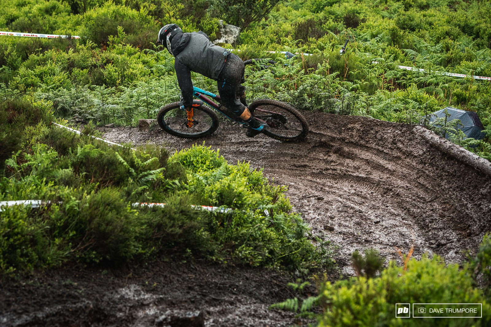 From dust to muddy ruts. What a difference a day and a few centimeters of rain makes.