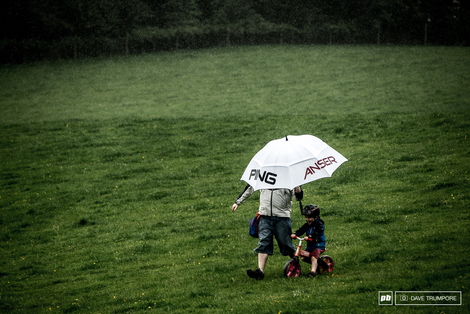 Rain doesn t stop the next generation of Irish shredders from getting a training ride in.