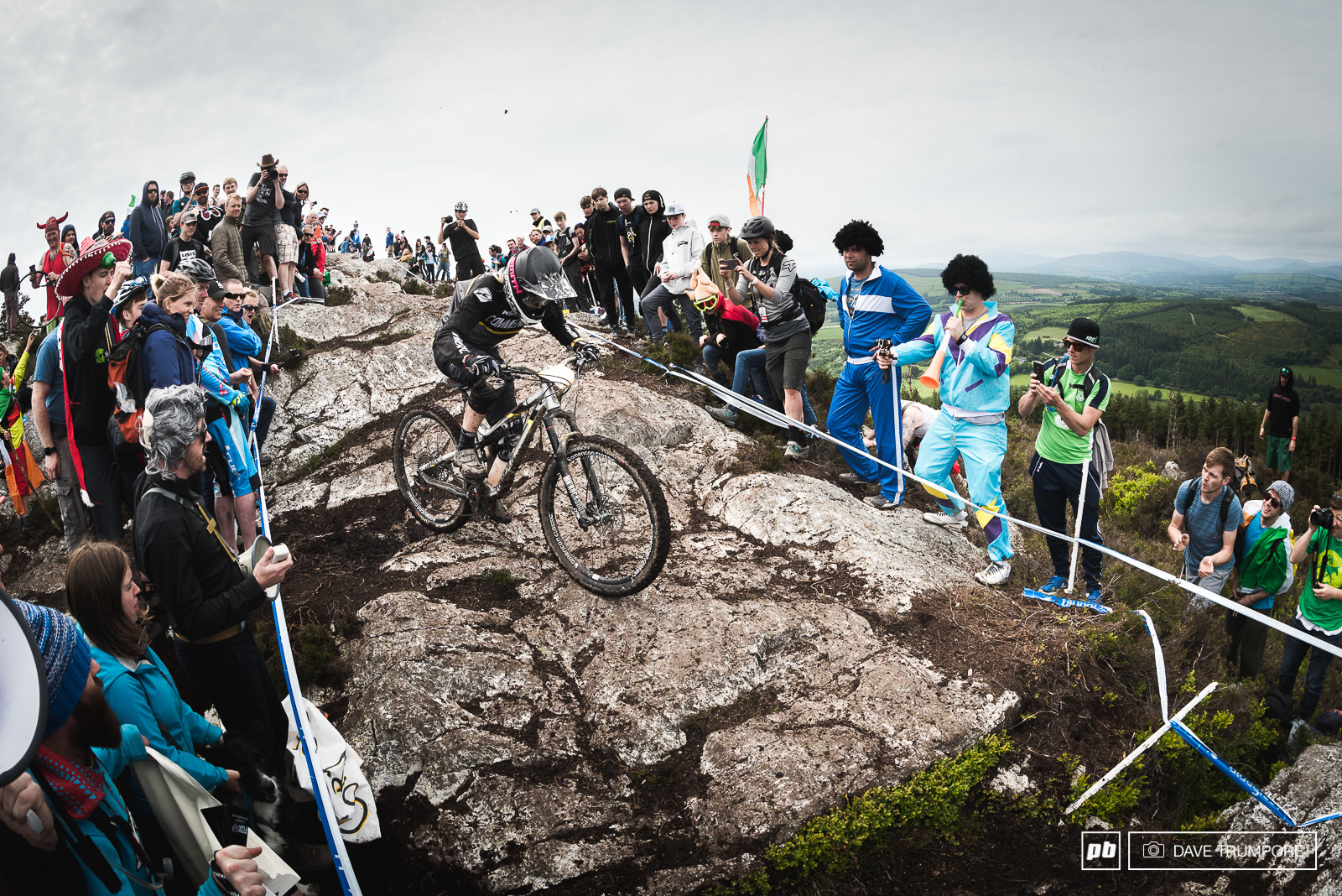 No one else was even close to Cecile Ravanel who won every stage this weekend.