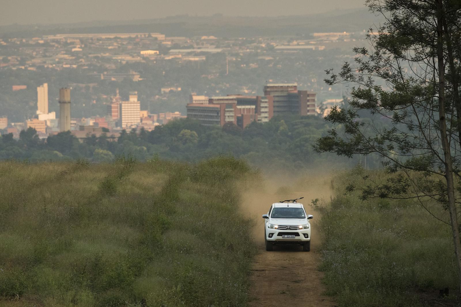 Greg Minnaar at home in Pietermaritzburg South Africa