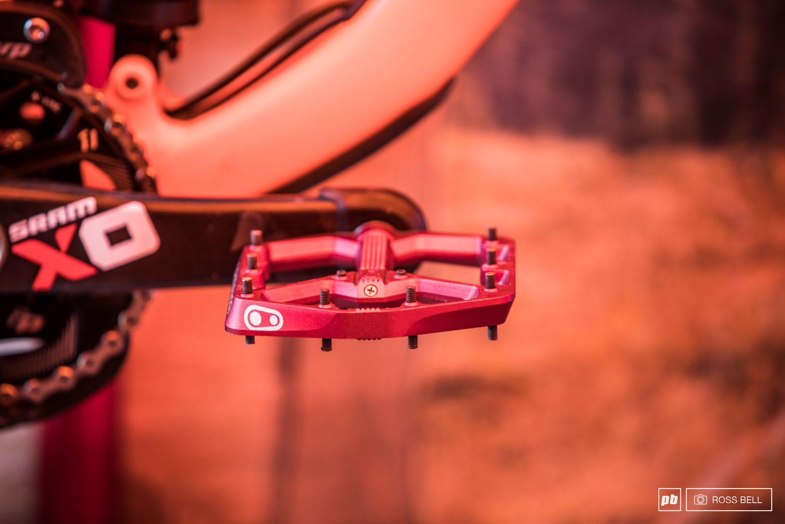 The Crankbrother s Stamp pedals aboard Operator of Connor Fearon.