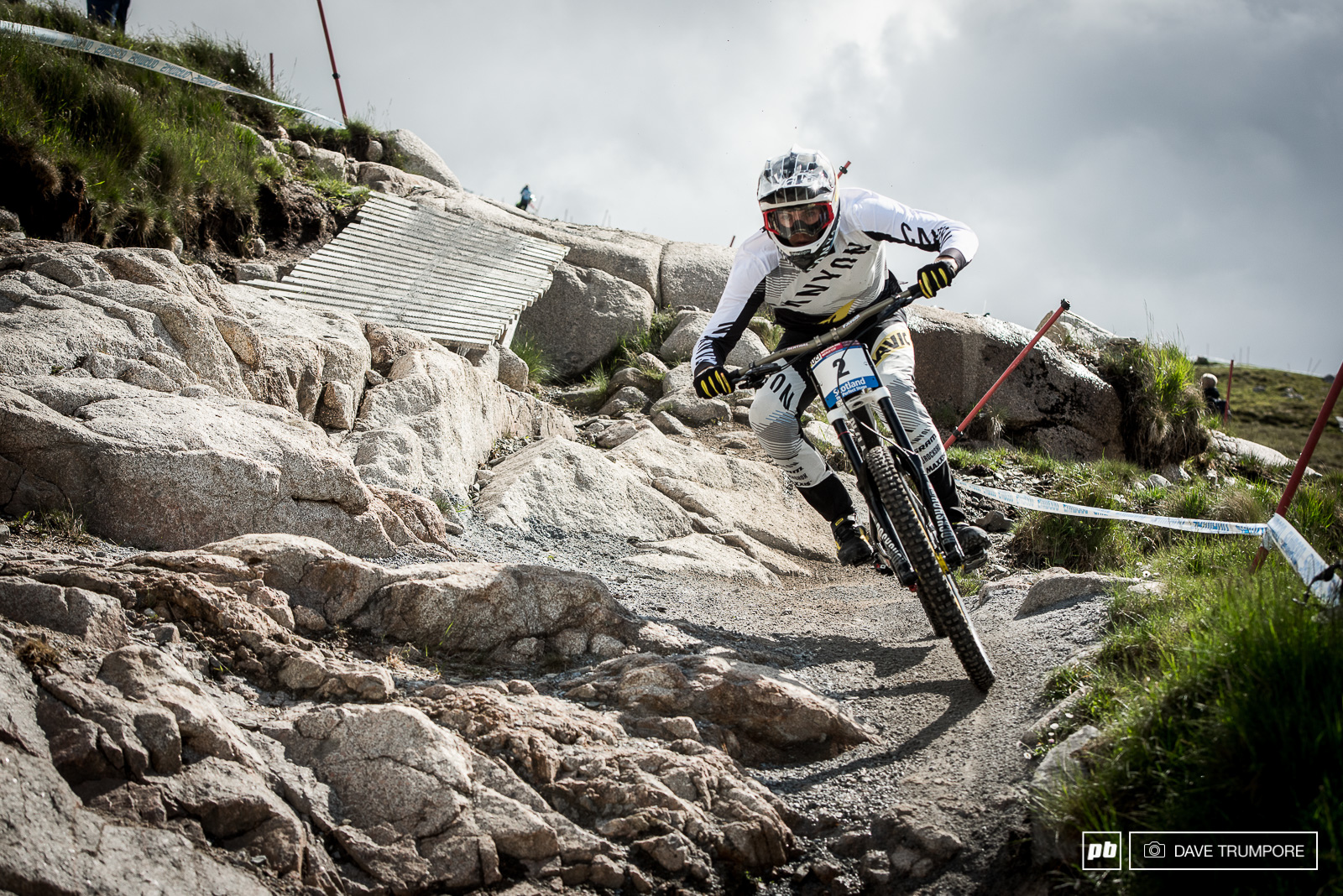 Mark Wallace sits second in the standing after the shakeup in Lourdes.