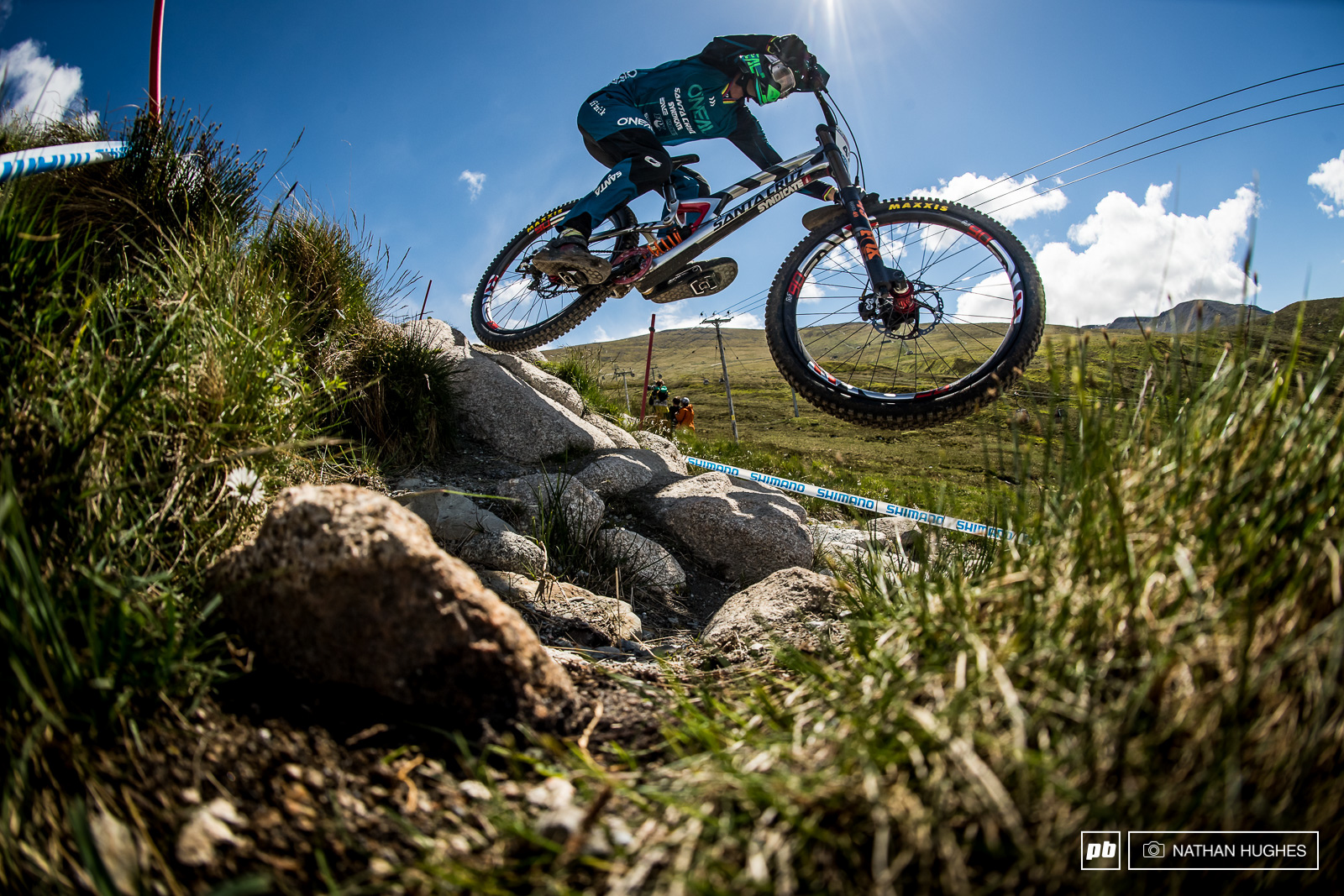 Greg Minnaar has taken a simply unbelievable 6 of the available 15 victories here at Fort William. You d be bat sh t mental to think he won t be able to do it again.
