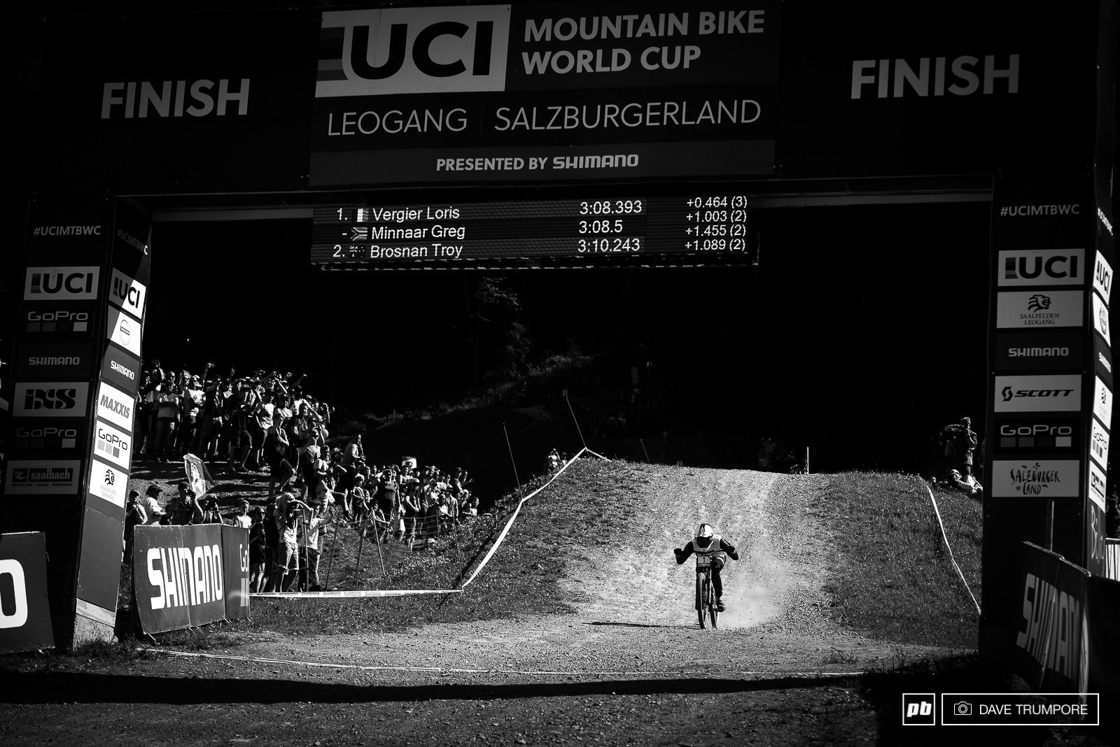 The final speed tuck from Greg Minnaar.