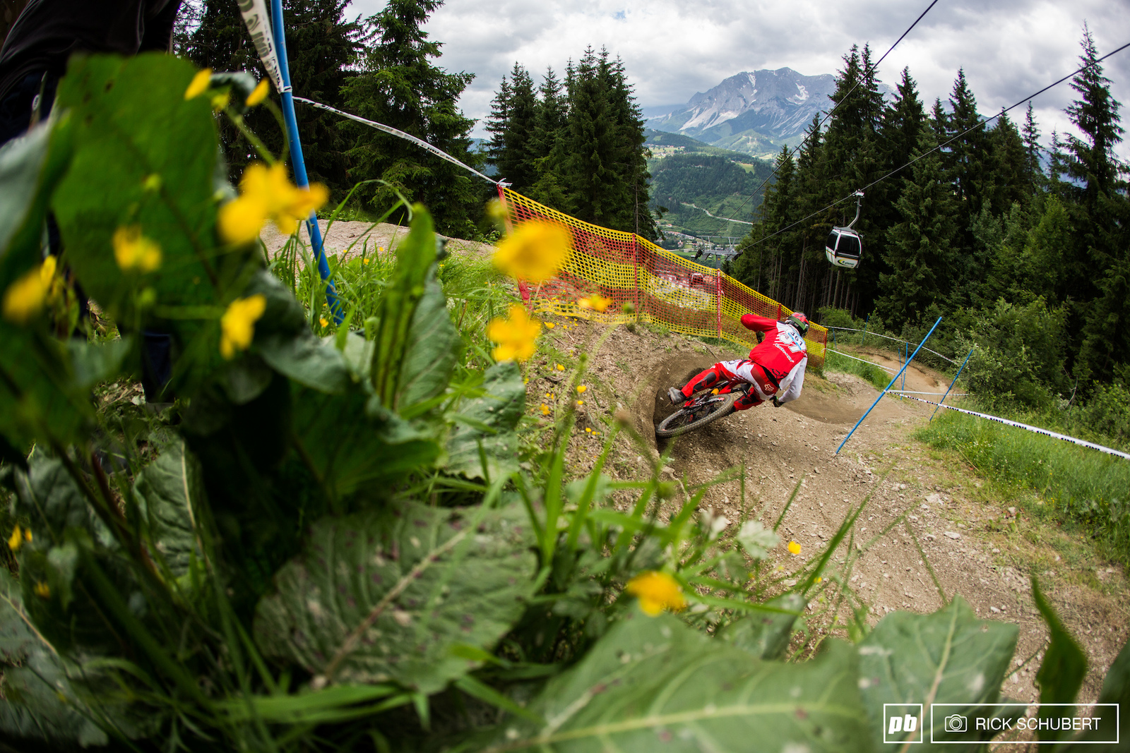Schladming delivers the good with an epic scenery