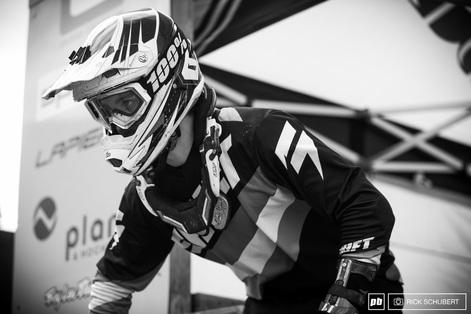Even though it is an official bikepark track the course in Schladming needs all of your focus and power