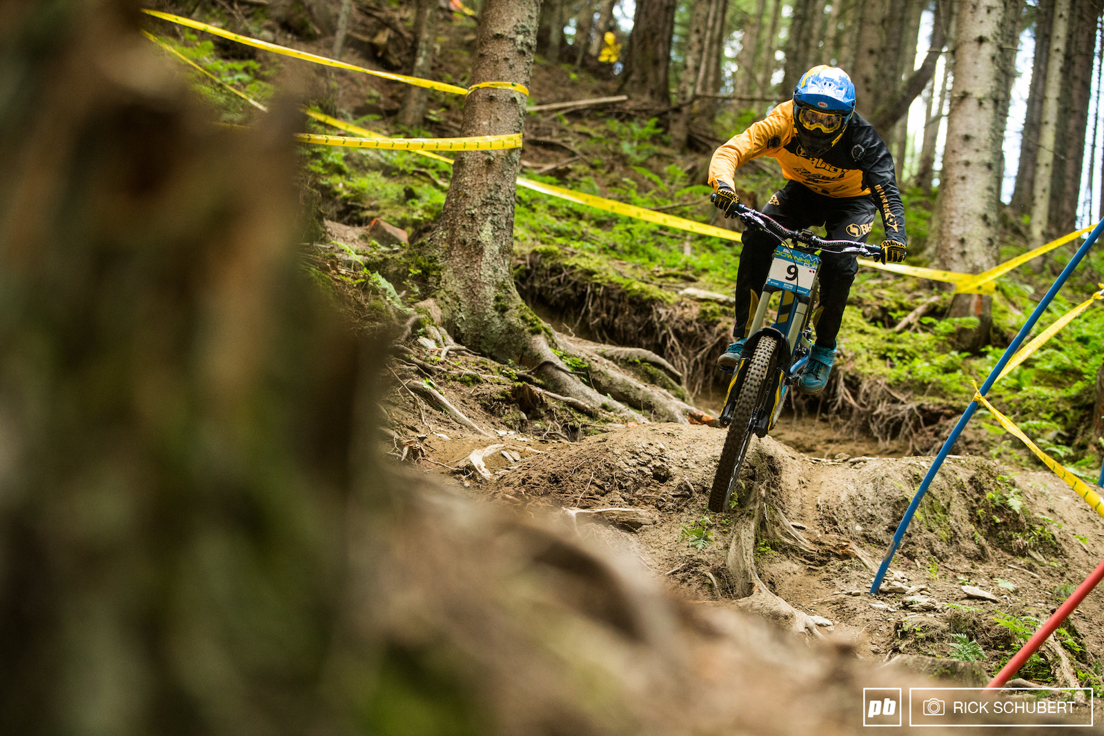 Phil Atwill stepped it up big times and had a stellar bottom section which lead him to the fastest time of the day