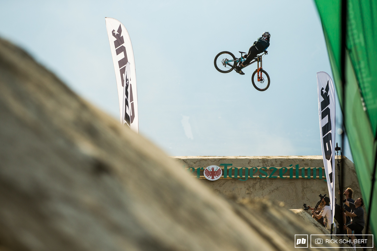 Current World Champ Danny Hart pulled some of the gnarliest whips