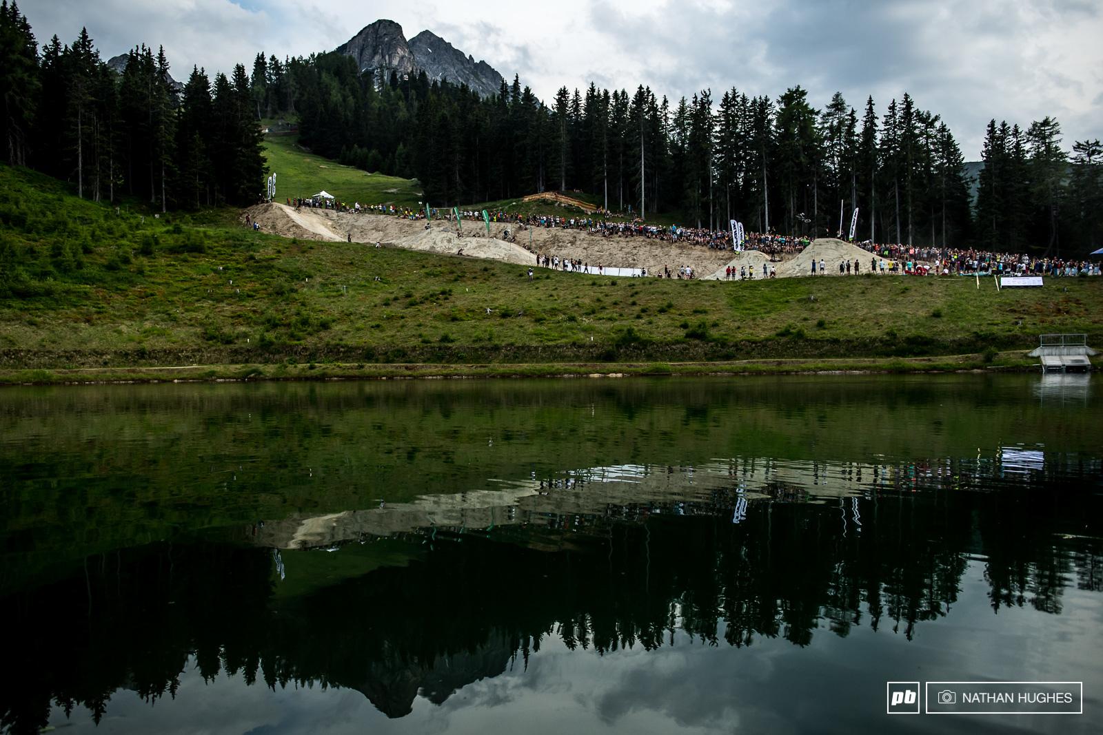 Quite a setting bravo Austria.