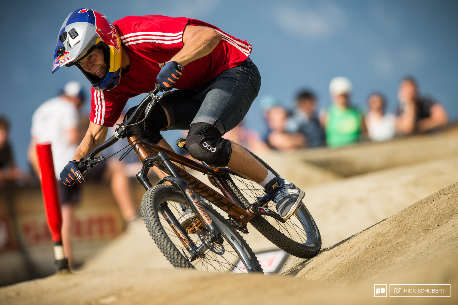 With a fourth place qualifier Martin Soederstrom proved that he is always someone to watch out for at the pumptrack events