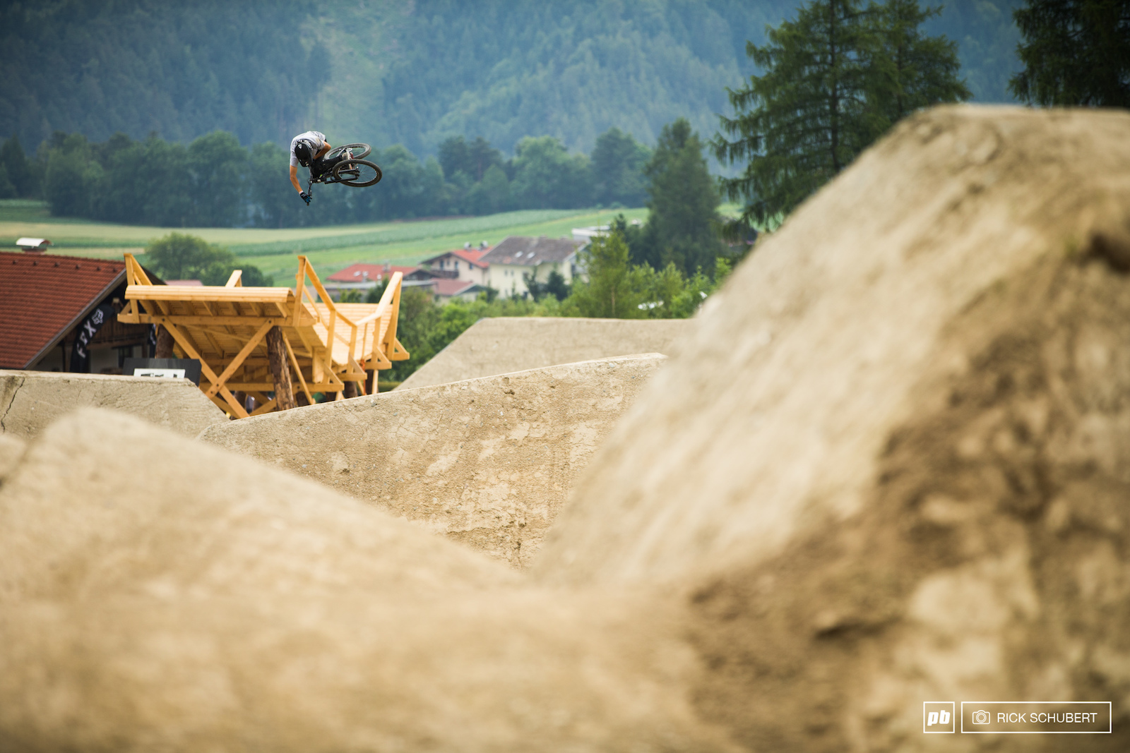 Torquato Testa got third in Rotorua but was not able to lay it down once again here in Innsbruck