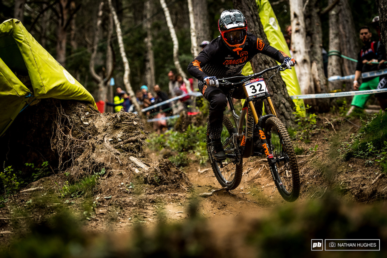 They may not speak French here in Andorra but Amaury Pierron sure speaks the right language on this zesty course.