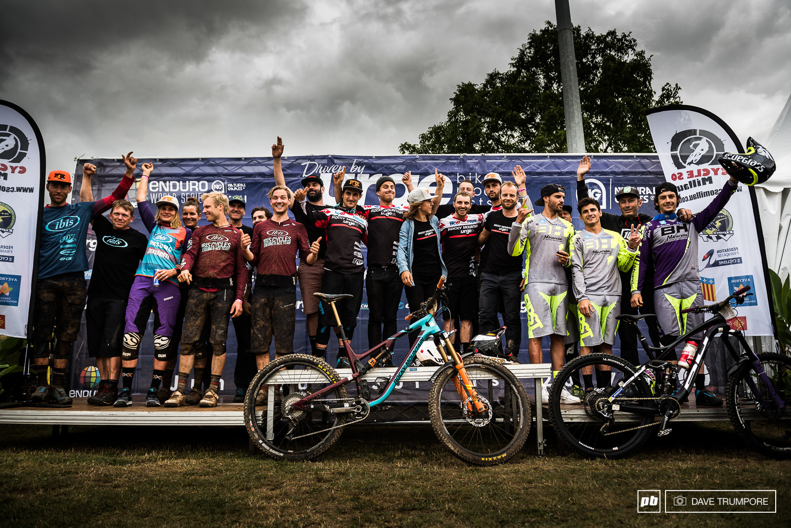 Rocky Mountain Ibis and BH Bikes take the top three spots this weekend in the team competition.