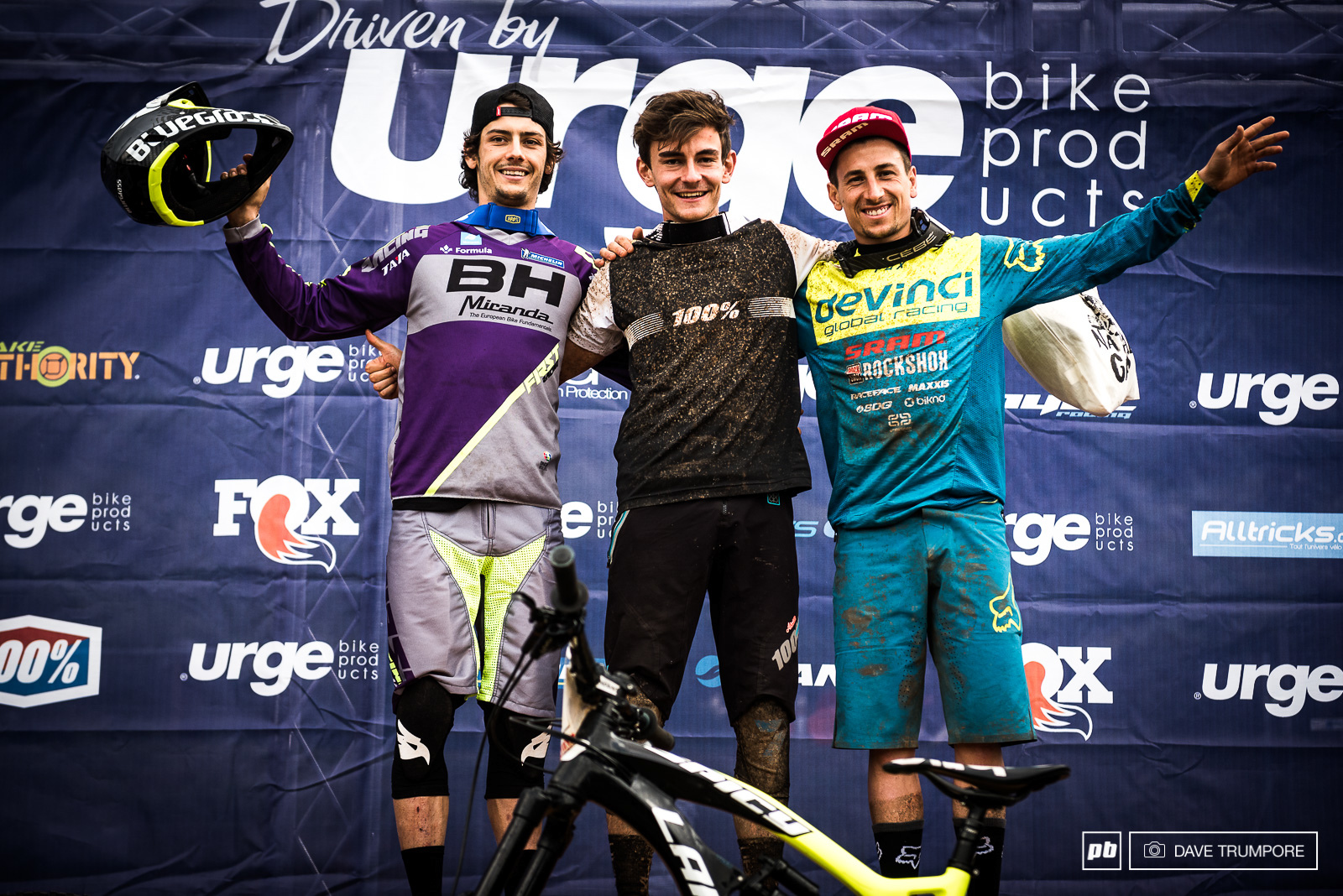 Adrien Dailly Alex Cure and Damian Oton round out the Men s podium.