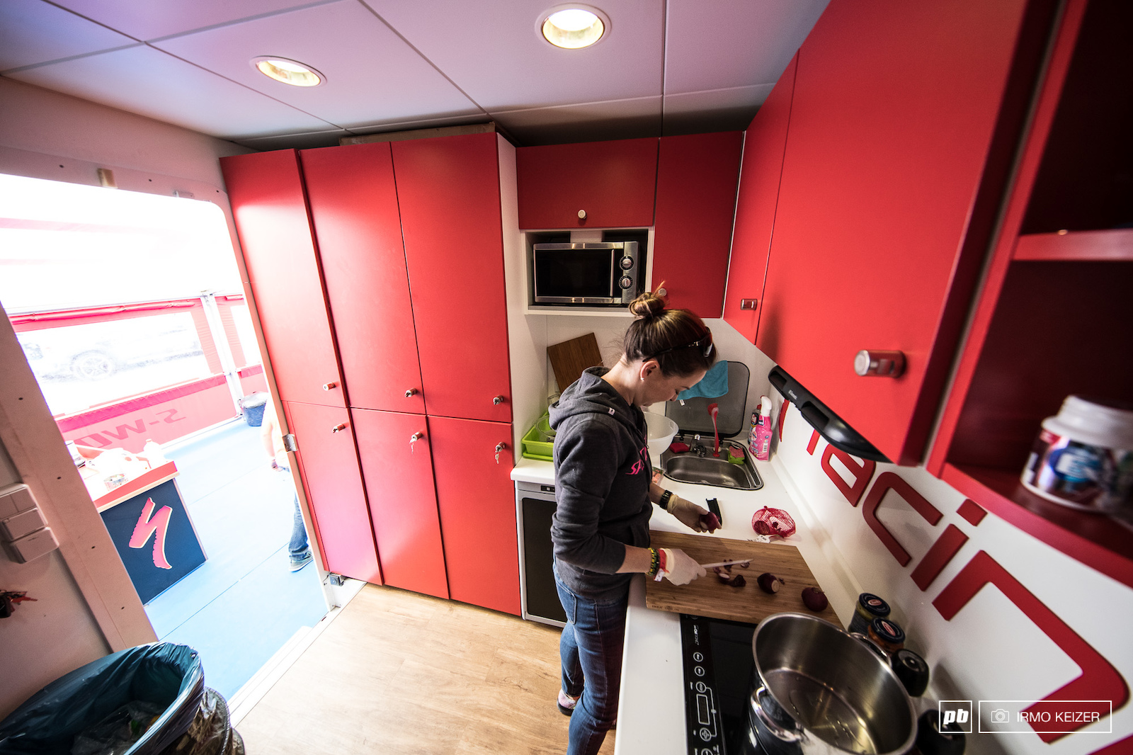 The Specialized kitchen.