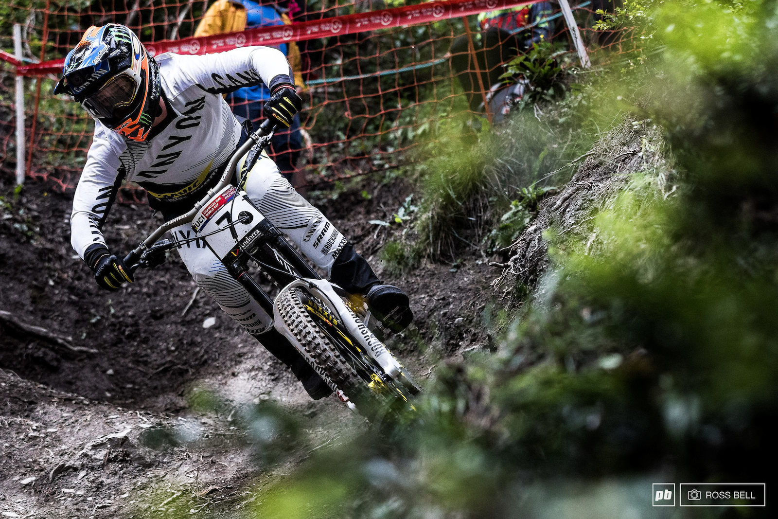 Troy Brosnan had been in this position before last year in Andorra only for the rain to ruini his chances. It almost looked liked a repeat might be on the cards but at the end of the day the fastest man on the hill one.