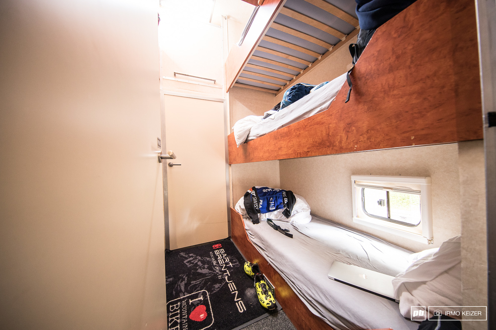 Staff beds can be found in the mid compartment.