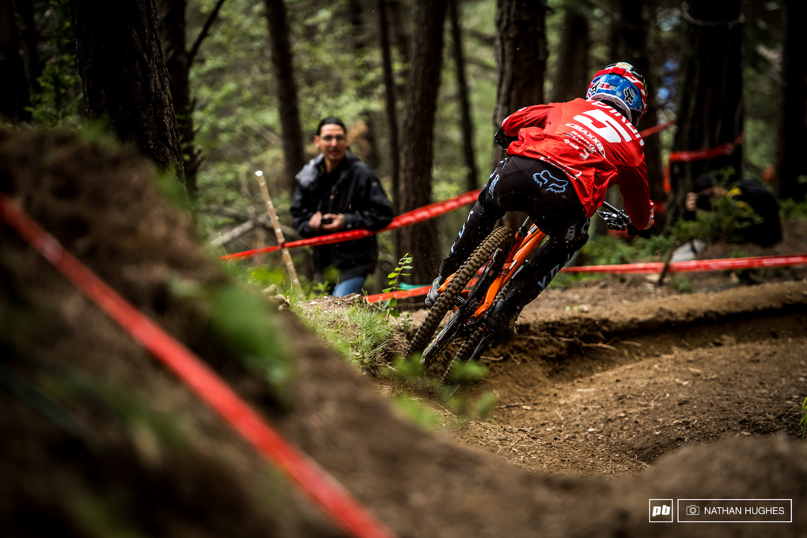 Connor Fearon had some serious game here in Andorra but came unexpectaedly unstuck with just a couple of turns to go.