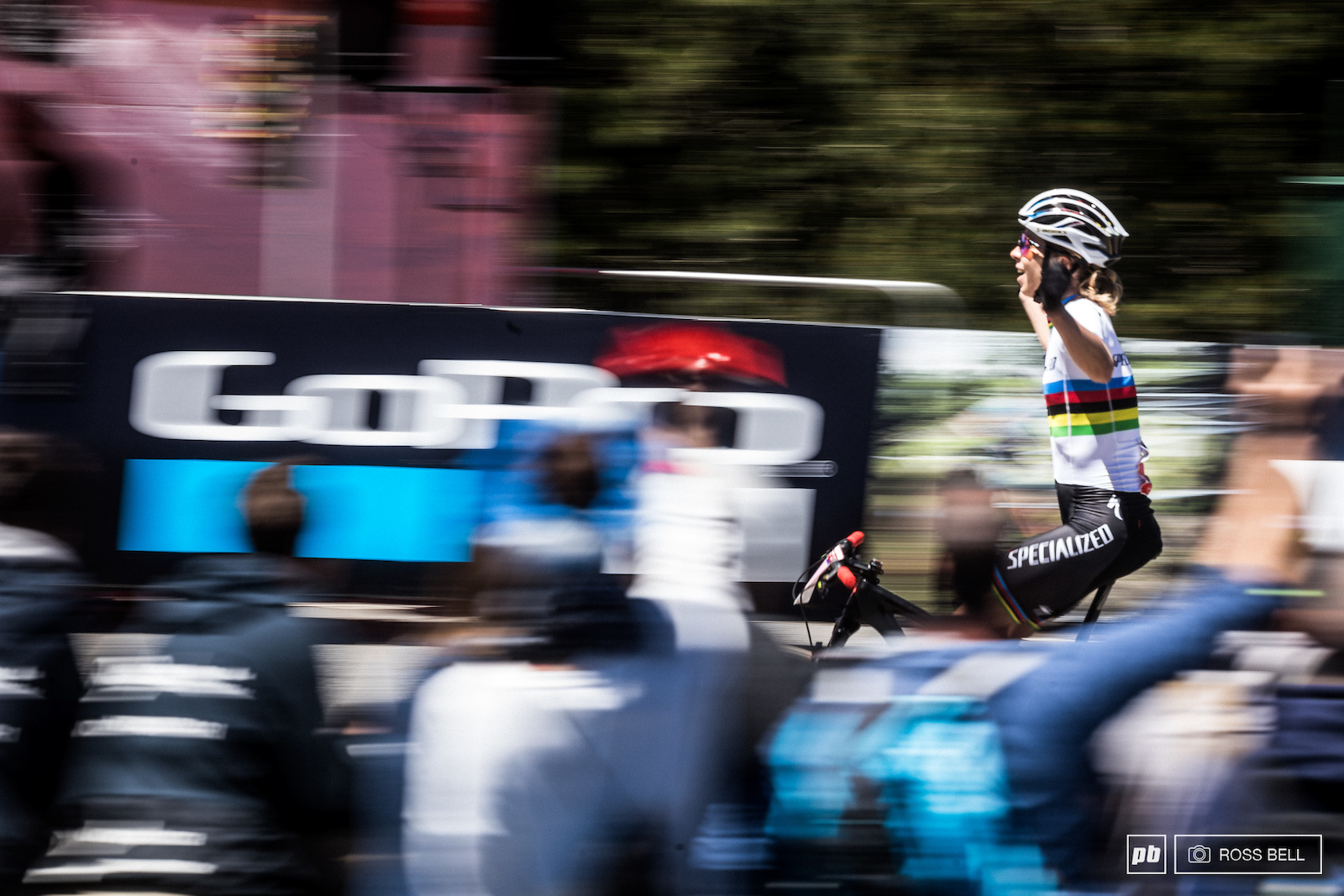 Annika Langvad was more than happy with her ride today.