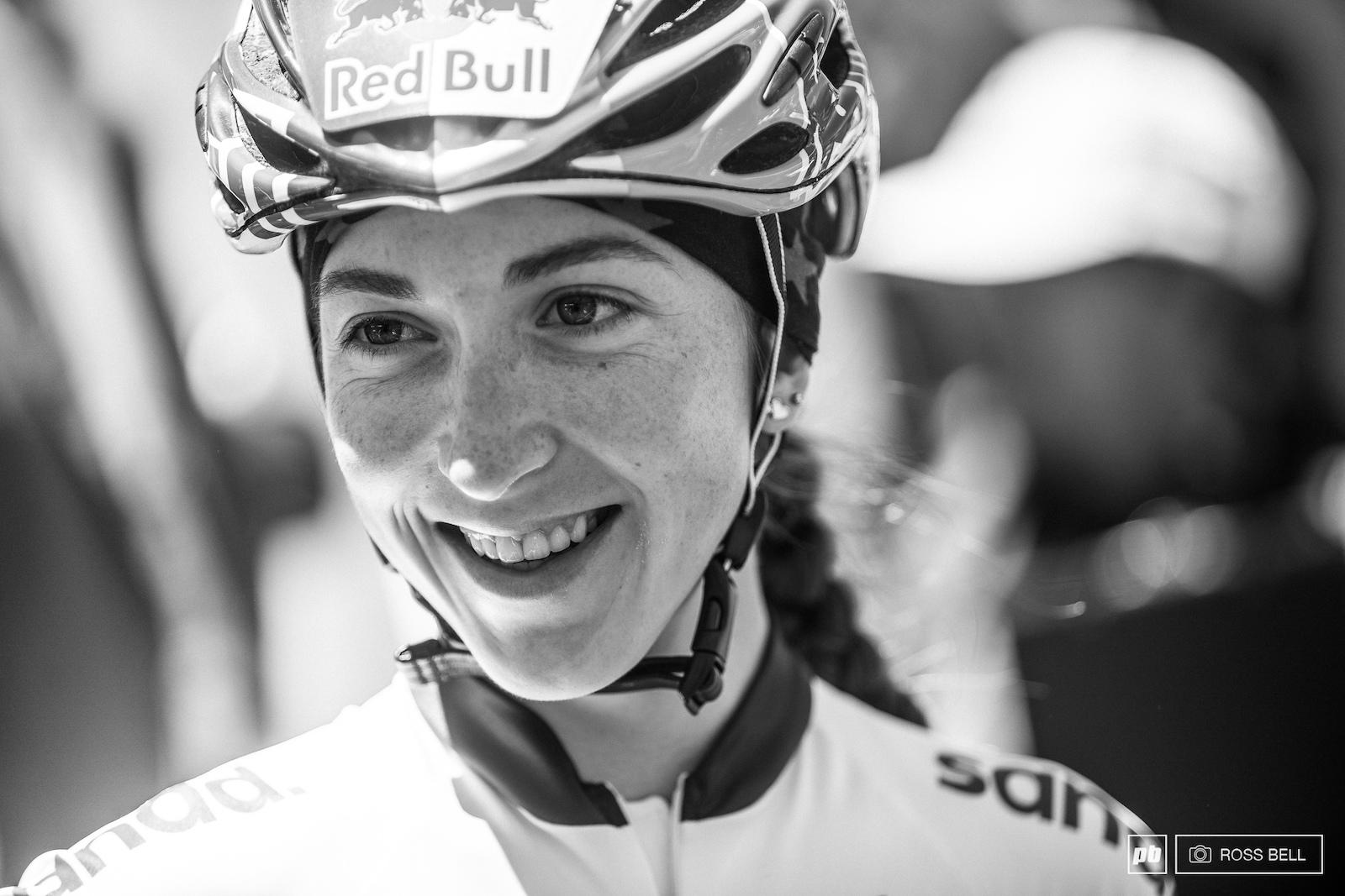 All smiles for your winner Yana Belomoina.