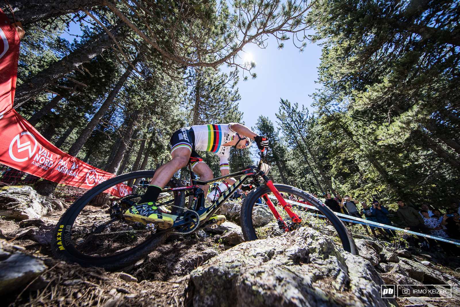 Schurter took the lead and would never look back.