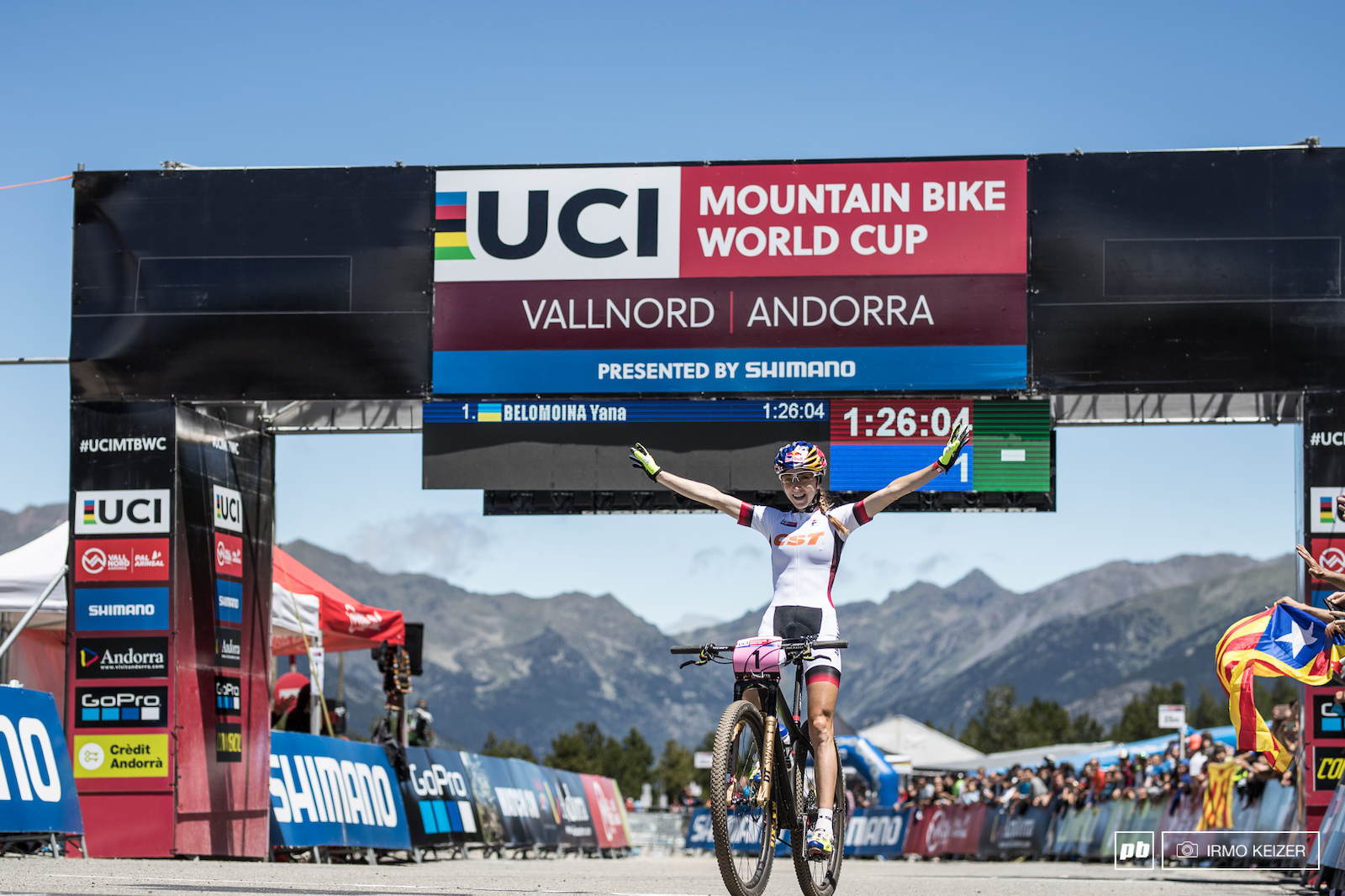 Two elite World Cup wins for Belomoina.