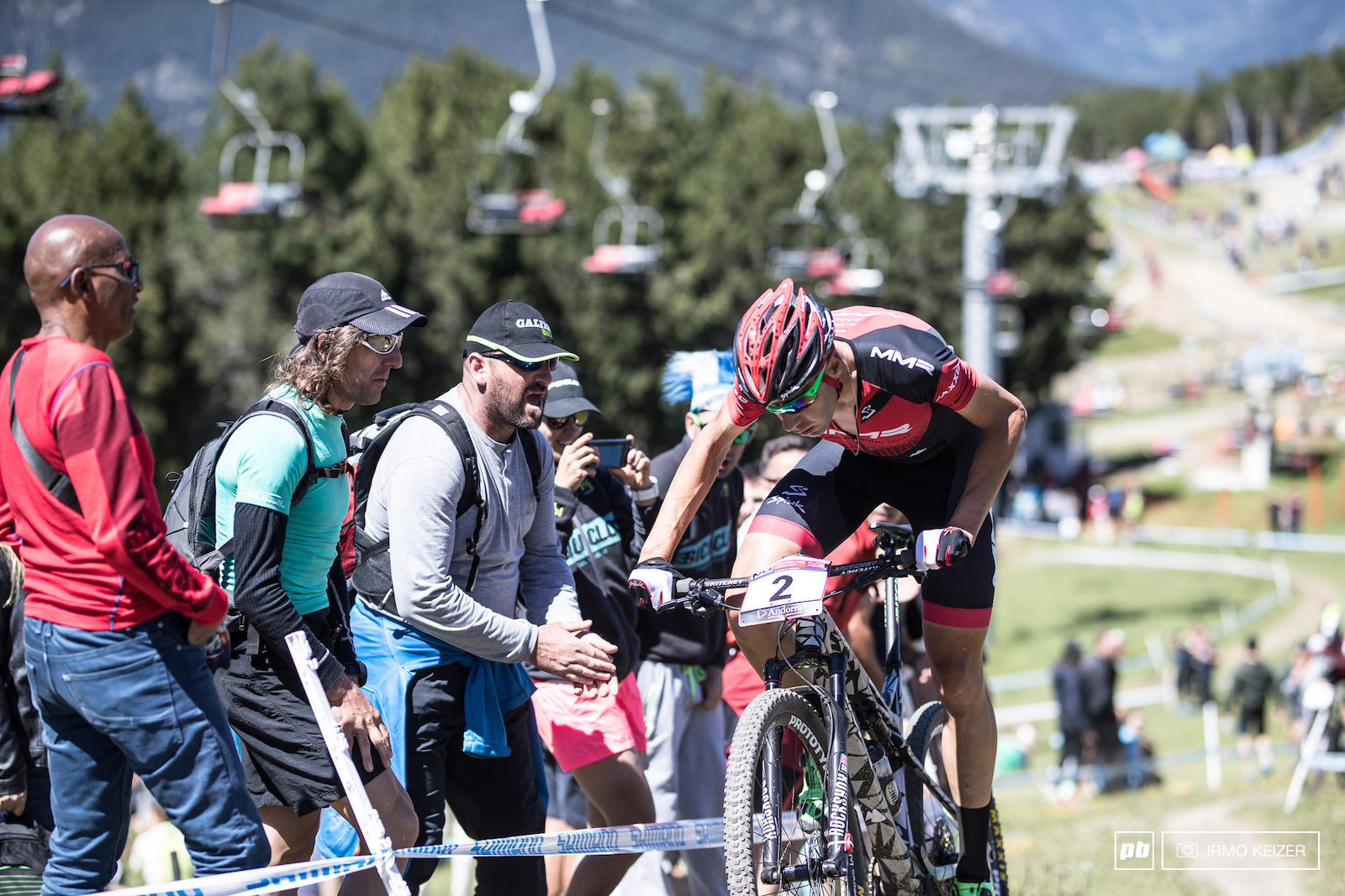 David Valero had to settle for 22nd as a flat threw him back in the field. Catching back up on a course on this altitude is very very hard.