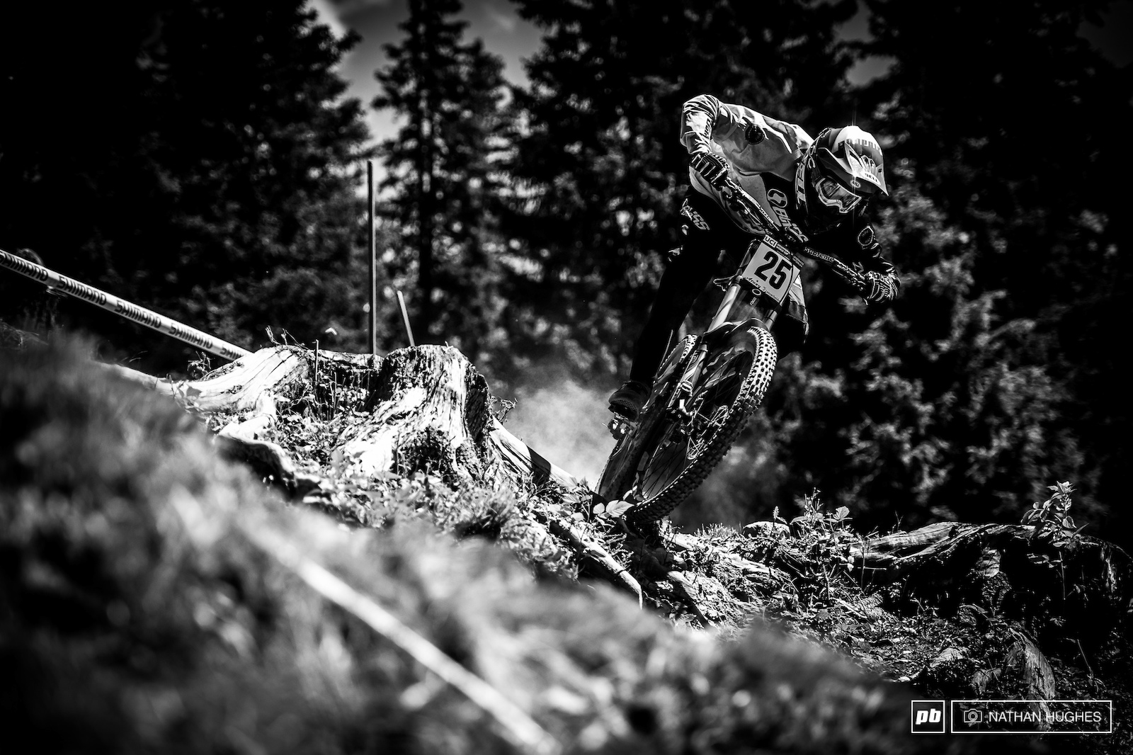Atwill on a surge of confidence after Vallnord and giving it the beans all day.