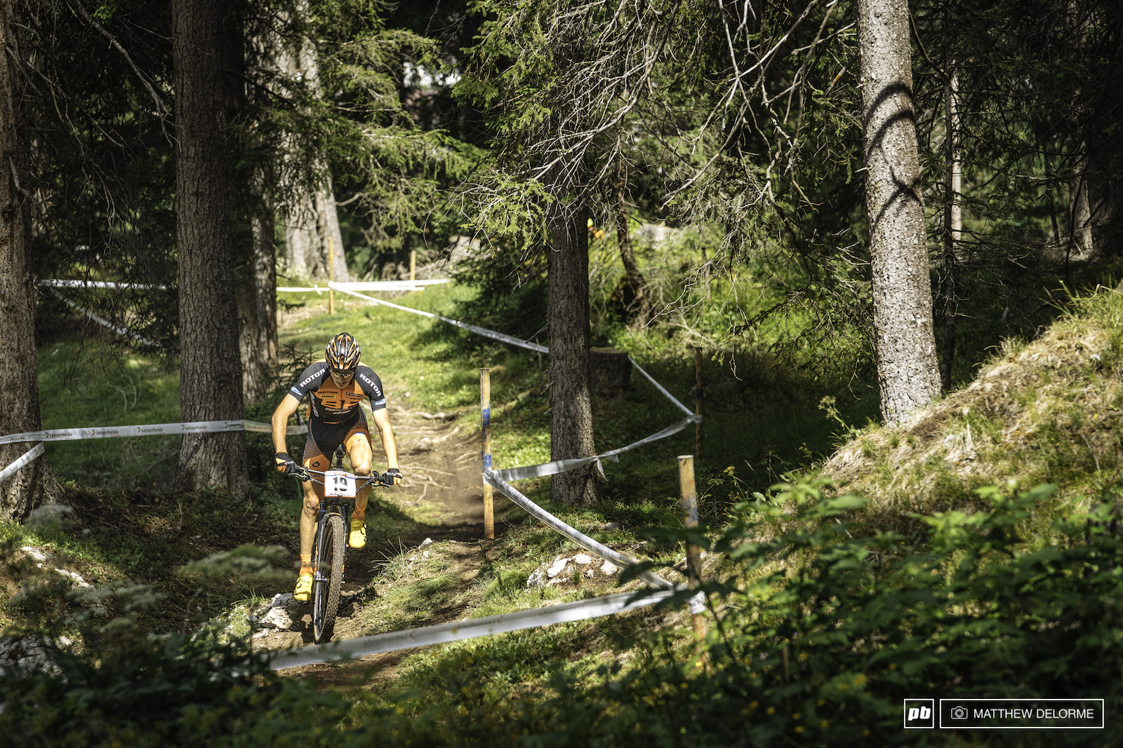 Jagged Teeth Lenzerheide XC World Cup 2017 - Practice Photo Epic