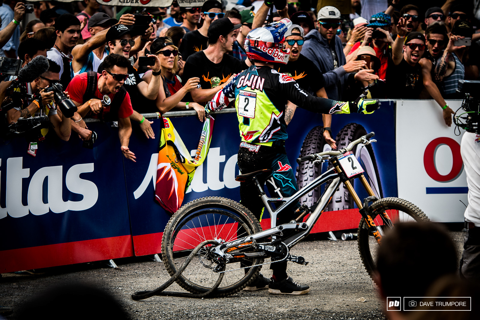 No words for Aaron Gwin.